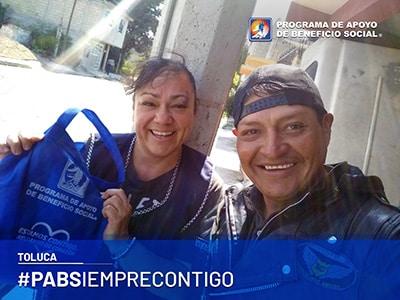 PABS entrega de despensas Toluca
