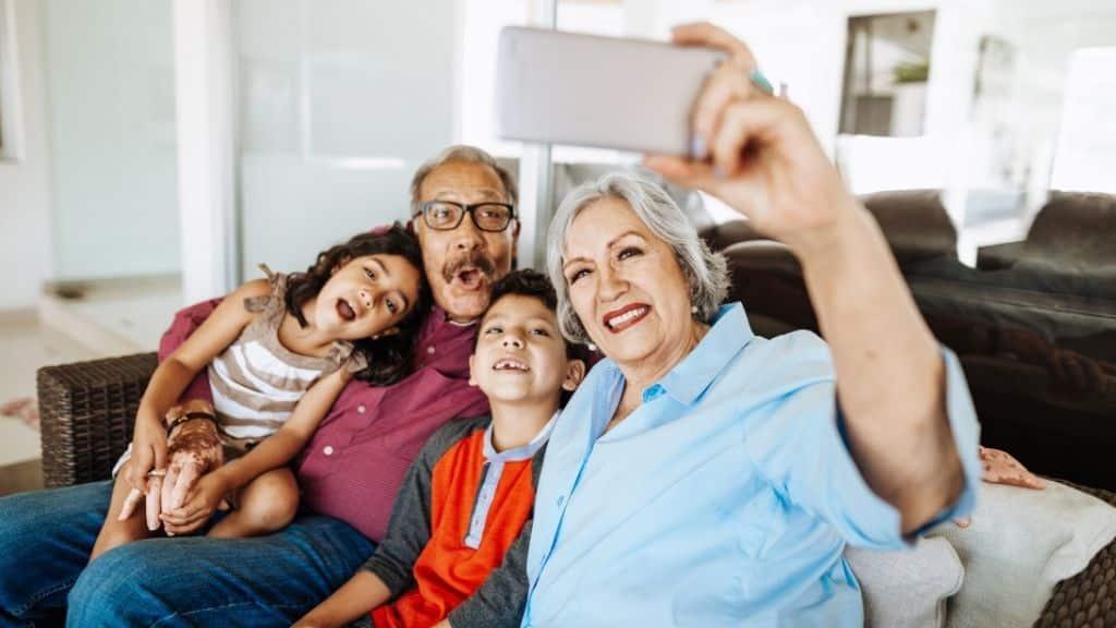 La influencia de los abuelos en los niños